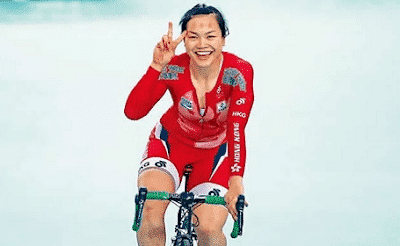 Photo of Meet Huang Shuang, the chinese woman who rode bicycle from Morocco to Lagos