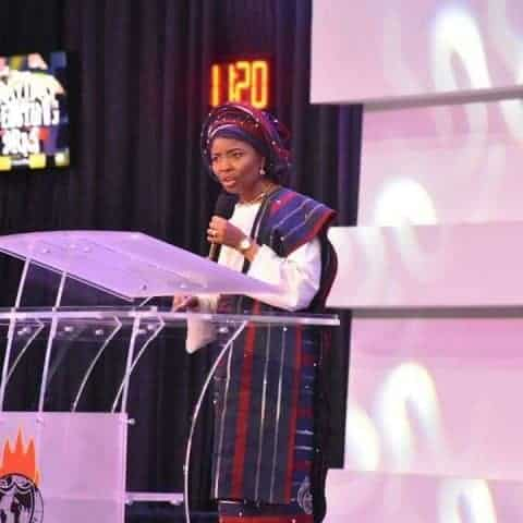 Photo of Bishop Oyedepo's wife reveals how God took her from a wheel chair and made her walk again (photos)