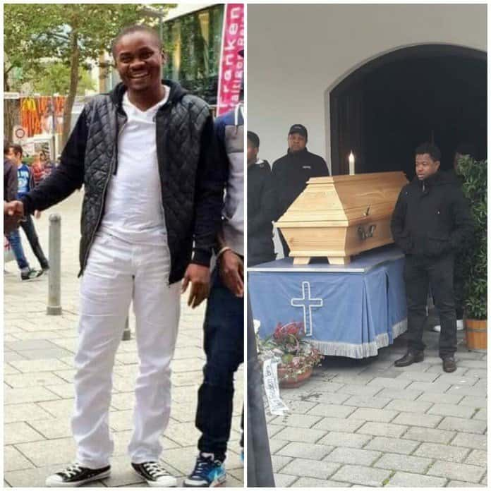 Photo of 35-Year-Old Nigerian Man Francis Ibegbulem, Commits Suicide In Germany…