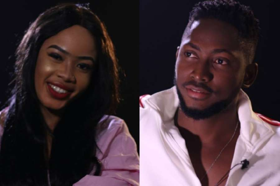 Photo of BBNaija 2018: Housemates Nina, Miracle caught in the act