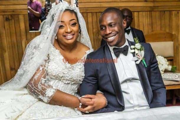 Photo of Obasanjo's son abandons matrimonial home, 8 months after wedding to Baba Ijebu's daughter (details)