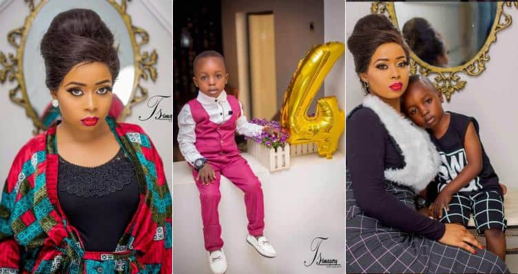 Photo of Pregnant Alaafin Of Oyo's youngest wife celebrates her son's 4th birthday in style (Photos)
