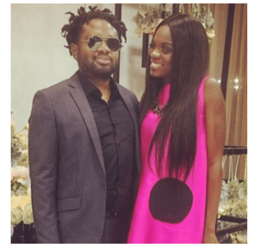 Photo of Cobhams Asuquo's wife, Ojuola, reveals how he went on to ask someone else out two weeks after she initially rejected him