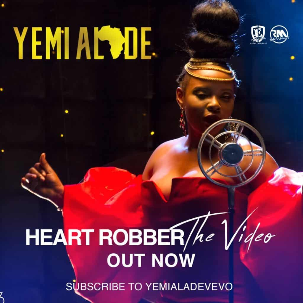 Photo of Yemi Alade releases new music video 'Heart Robber'