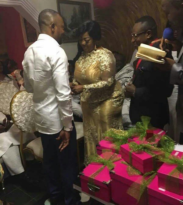 Photo of Ghanaian prophet marries a lady with a very big backside (photos)