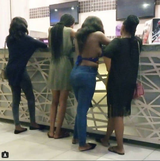 Photo of Scantily dressed lady spotted at a mall in Ibadan (Picture)