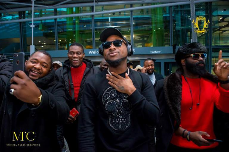 Photo of Pictures From The UK Edition Of Davido's 30 Billion Concert