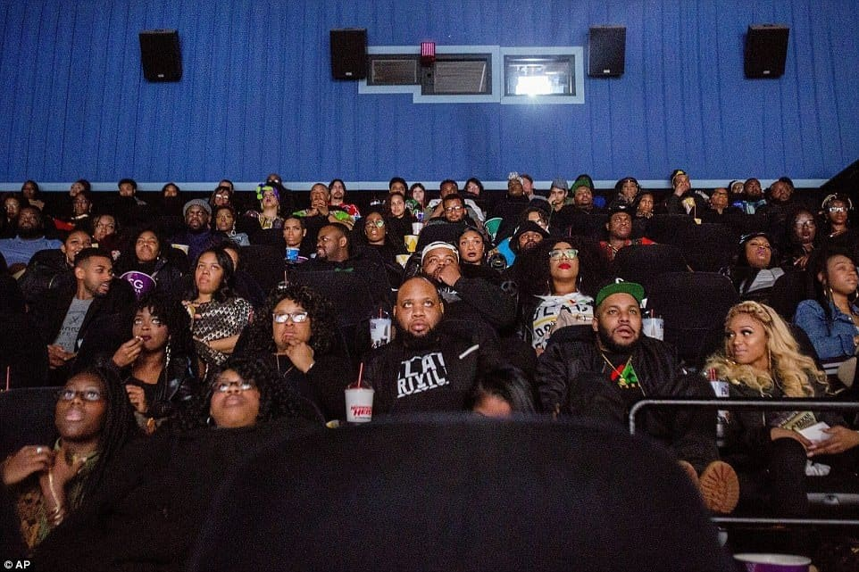 Photo of See how Africans dressed to the cinema to see the movie, Black Panther