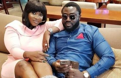 "Photo of ""When I learnt to dry my tears, I found a shoulder to cry on"" – Mercy Johnson gushes as she cuddles up with husband"