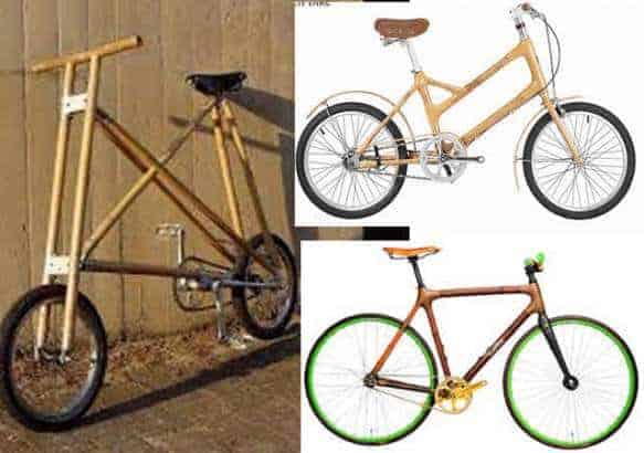 Photo of Checkout the bicycles made from bamboo by a Nigerian University  (Photos)