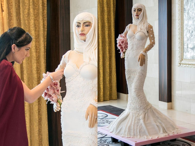 Photo of This N36million 'Arabian bride' wedding cake is breaking the Internet (photos)