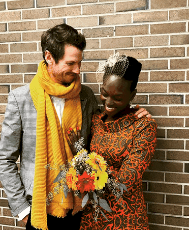 Photo of Dora Akunyili's daughter, Chidiogo officially weds her white lover (photos, love story)