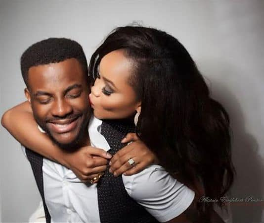 Photo of Ebuka's Wife, Cynthia Celebrates Him for the success of the BBN, despite all the rumours