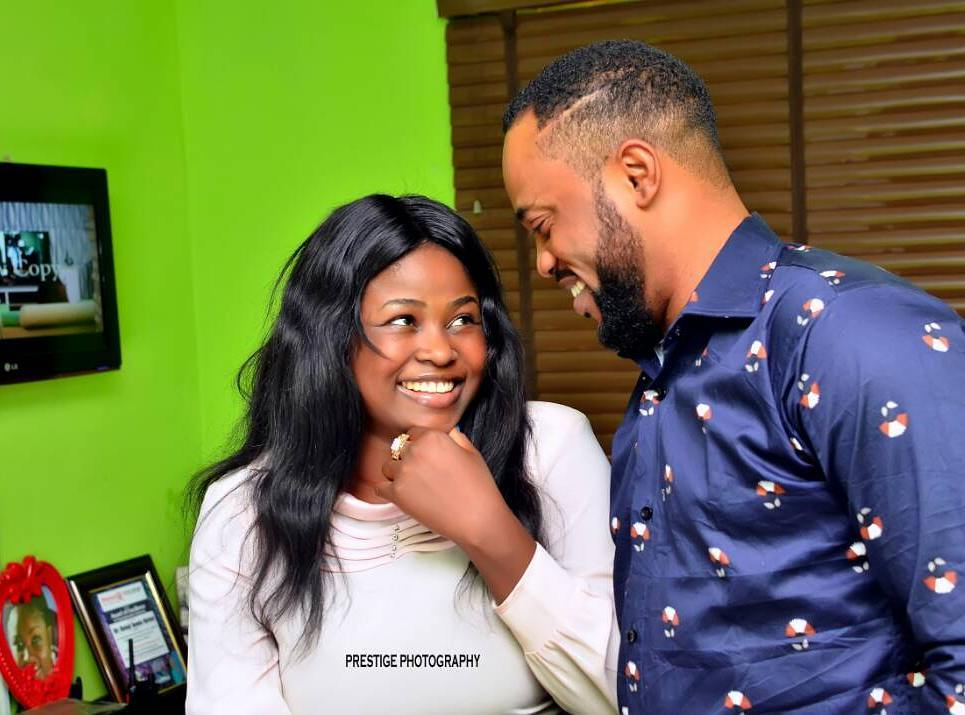 Photo of Actor Damola Olatunji celebrates live-in lover, Bukola Awoyemi…why they are yet to be married