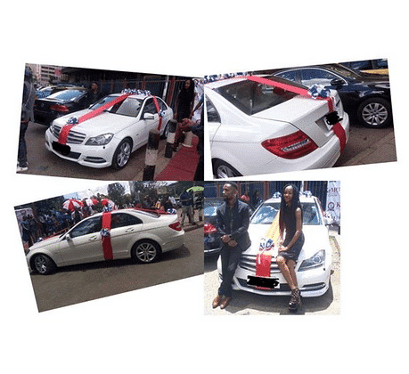 Photo of 20-yr-old girl borrows money to buy her boyfriend a car on Val's Day (photos)