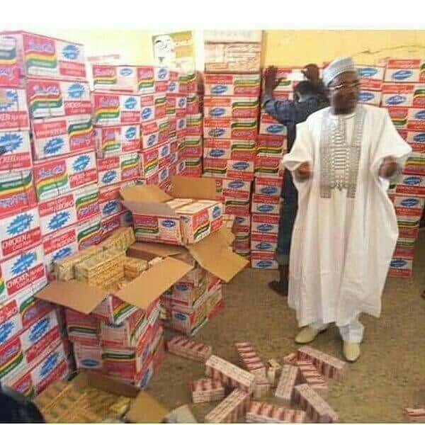 Photo of NDLEA seizes N19m worth of illegal drugs concealed in cartons  of indomie noodles
