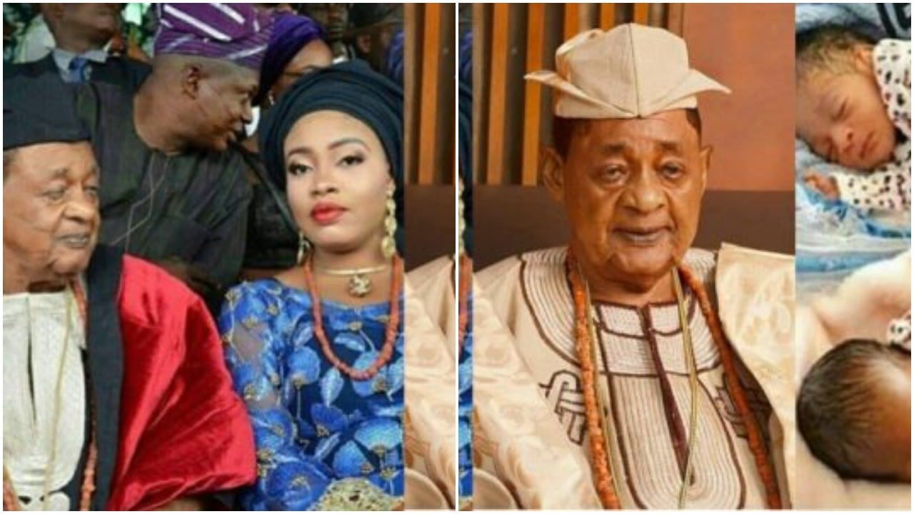 laafin of Oyo welcomes twins with young wife, Memunat