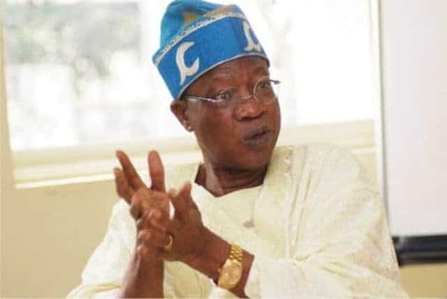 "Photo of Lai Mohammed has a message for Nigerians that address him as a ""liar"""