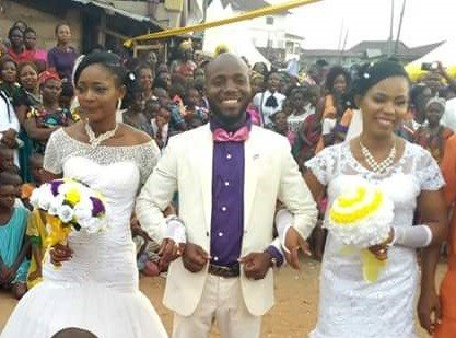 Photo of More photos from Abia wedding where two women were married at same time to one husband