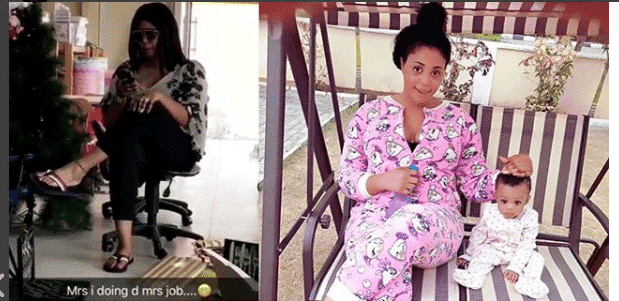 "Photo of ""Chicken head, I'm coming for you,"" actress Orjiewke tells her babydaddy, actor Charles Billion"