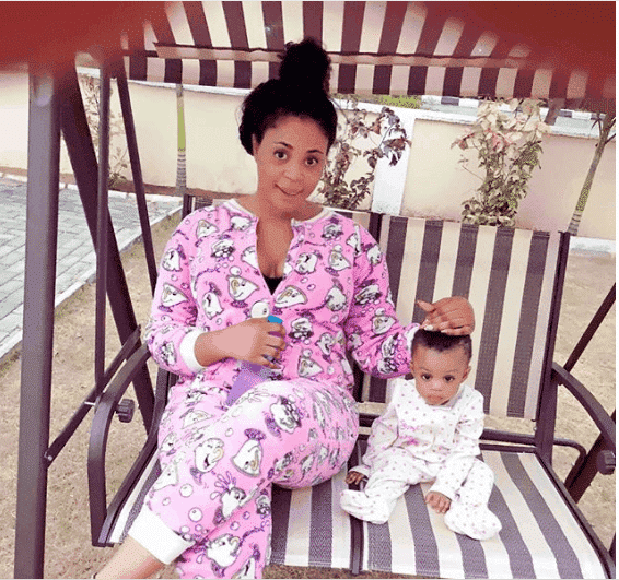 Photo of 1 year after dumping ex-husband for impregnating 2 women, Mimi Orjiekwe allegedly remarries