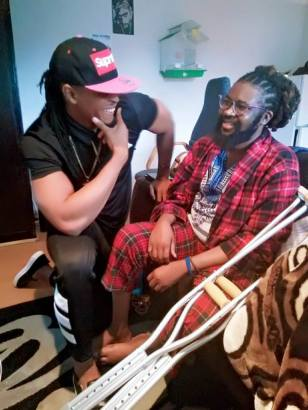 Photo of Nigerian film maker Onyeka Nwelue, involved in ghastly motor accident | N9.8 million needed for corrective surgery