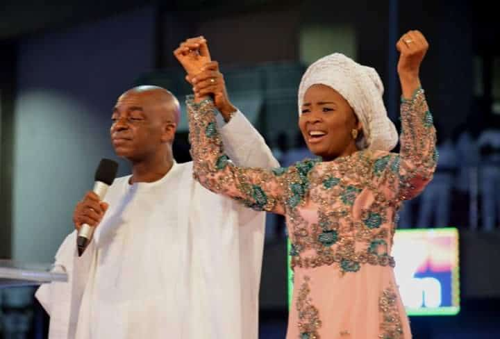 Photo of Death came to seize her in 2004 | Bishop David Oyedepo celebrates wife's 60th Birthday with testimony (photos)