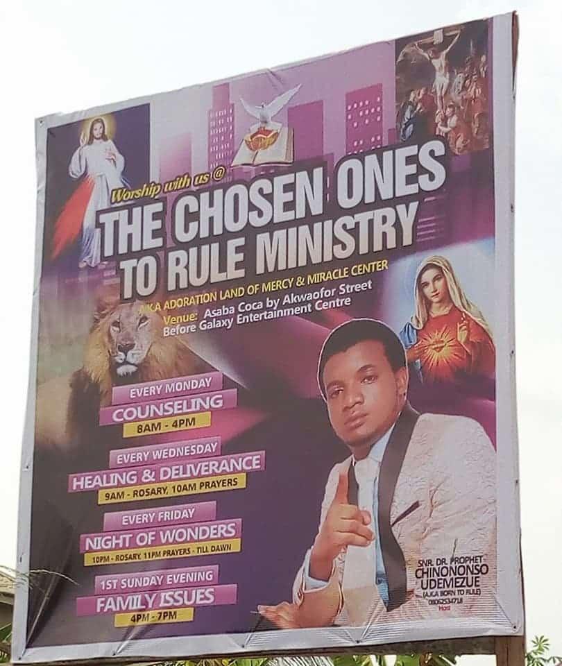 Prophet Chinonso Udemezue Arrested
