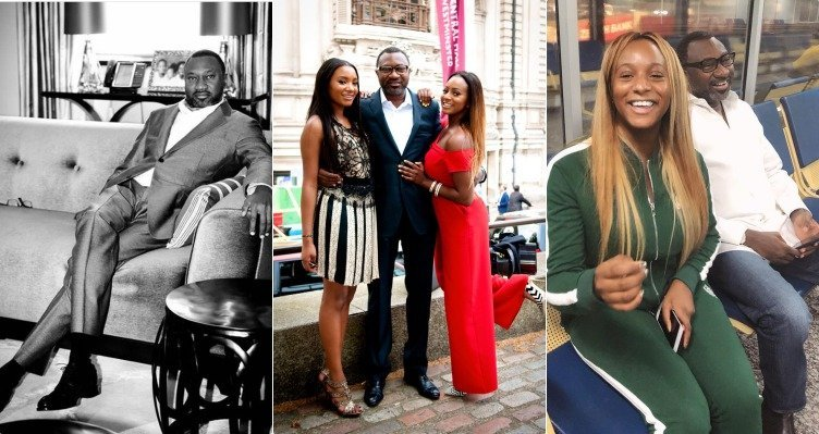 Photo of See Dj Cuppy & Temi Otedola's reaction to their Billionaire father's first post on Instagram