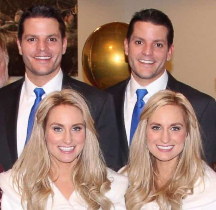 Photo of Amazing! Identical twin brothers propose to identical twin sisters (Photos)