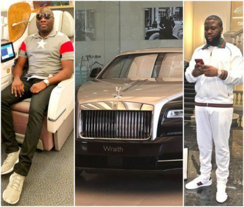 Photo of Hushpuppi Replies Mopha After Shade Over His N150m Rolls Royce Wraith