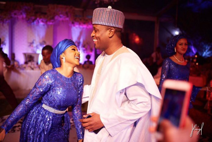Photo of Drama as Zahra Buhari's ex boyfriend, Yar Adua's son, plans to marry Hauwa Indimi