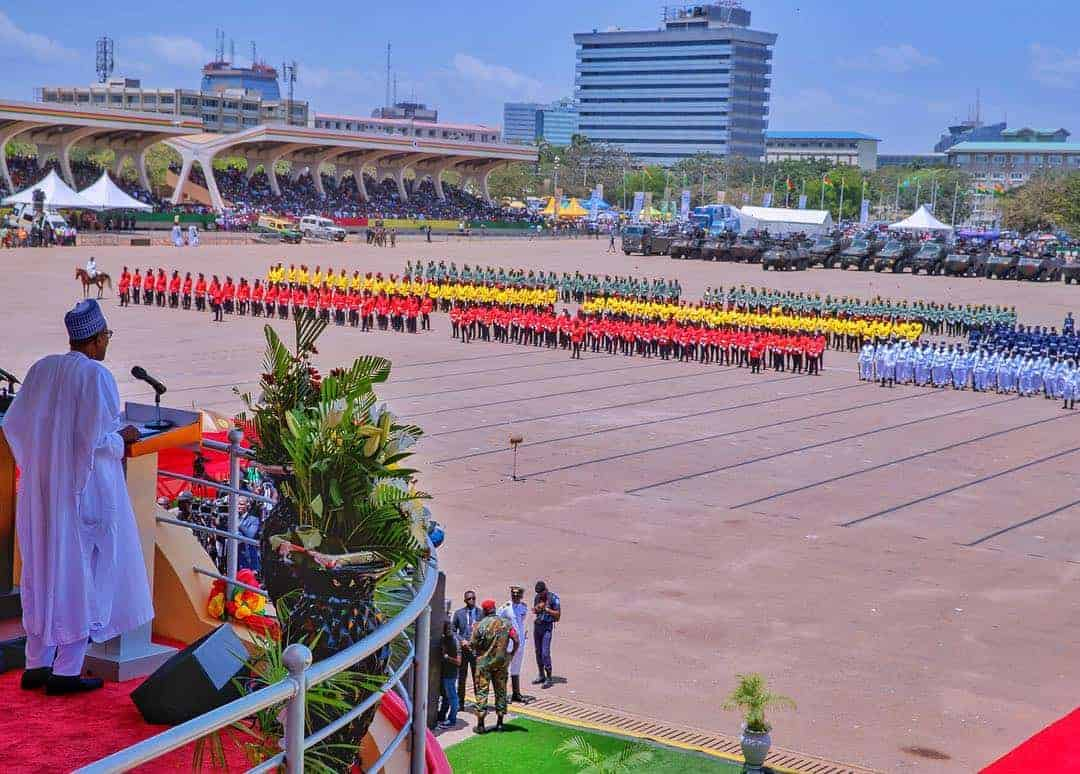 Ghana's 61st independence anniversary
