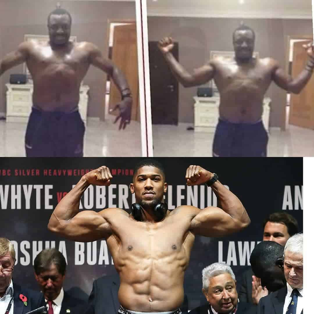 Photo of Comedian Alibaba challenges Anthony Joshua to a boxing fight (pictures)