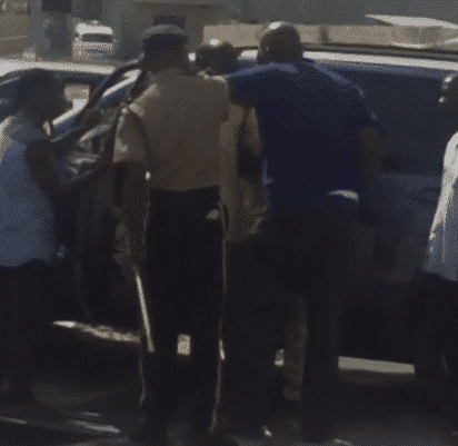 Photo of Married man beats wife after she slapped his side-chic at Film house cinemas