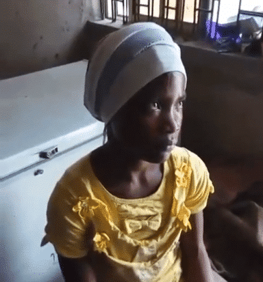 Photo of Maid caught feeding a 5-month-old baby with liquid soap