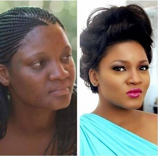 Photo of This photo collage of Omotola Ekeinde is causing an online uproar