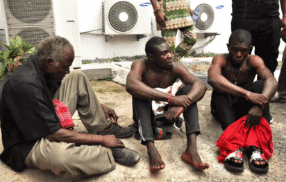 Photo of 9-year-old girl defiled by 70-year old grandfather, two sons weeps in court