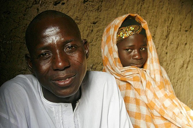 Photo of 14 yr old girl becomes the wife of an Imam after he raped and impregnated her