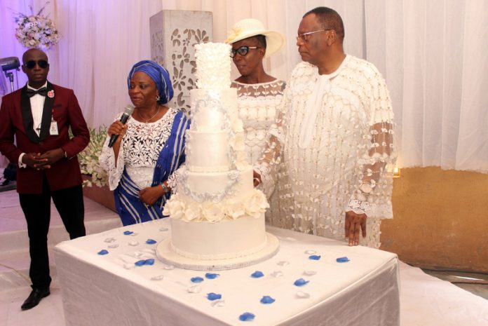Photo of More photos from 75-year-old prophet Abiara's wedding to his 57-year-old bride