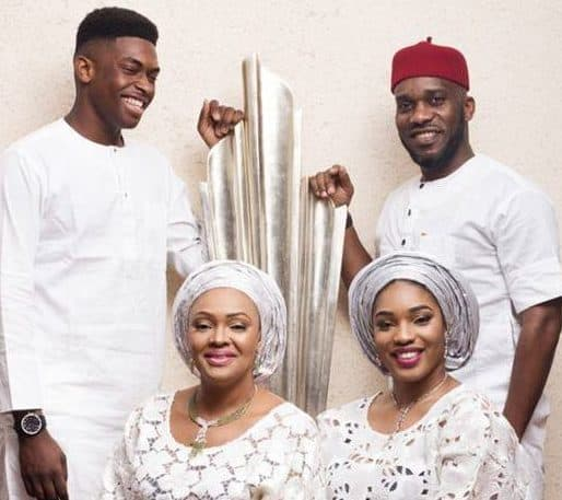 Photo of Beautiful photos of Legend Jay-jay Okocha & his lovely family