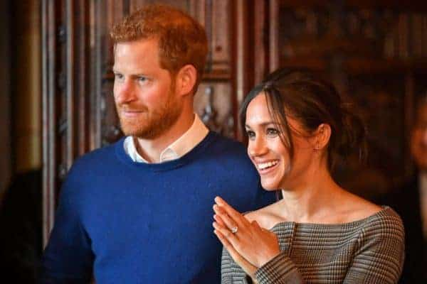 Photo of Prince Harry and Meghan Markle's Royal wedding invitation card sent out to 600 guests (details)
