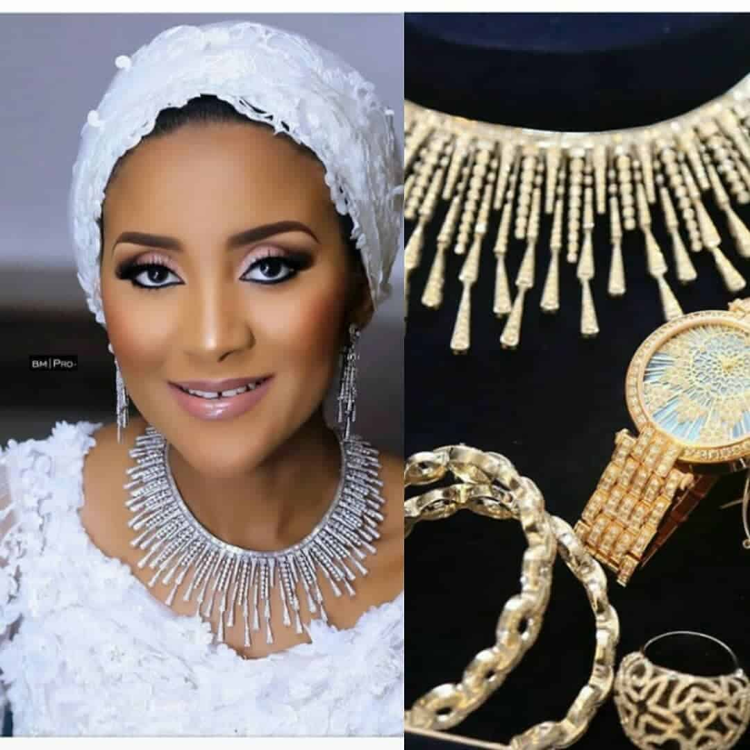 Photo of How Aliko Dangote personally shopped for diamond, other jewellery used by daughter at wedding (photos)