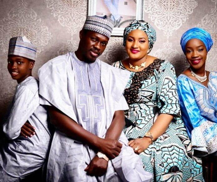 Ali Nuhu family