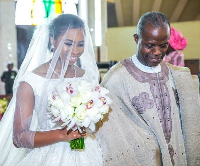 Photo of More Photos from the white wedding of Osinbajo's daughter to son of Billionaire, Shagaya