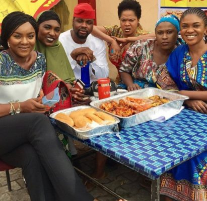 """Photo of Mixed reactions as Omoni Oboli drops Toyin Abraham in new """"Wives On Strike"""""""