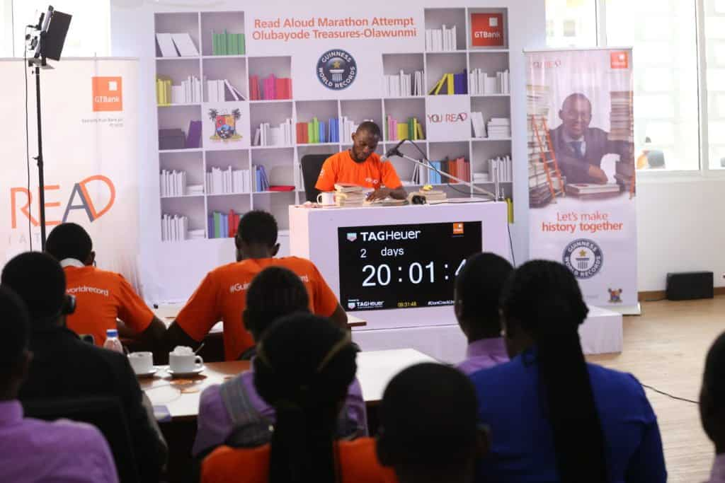 Photo of GTBank Supports The Attempt Of A Nigerian To Break The Guinness World Record Via 'YouREAD Initiative'