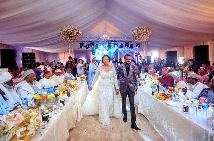 Photo of Photos from Fatima Ganduje, Idris Ajimobi's wedding reception in Ibadan
