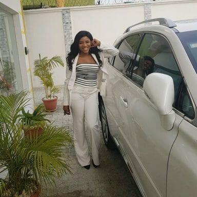 Linda Ikeji N30million Mercedes Benz