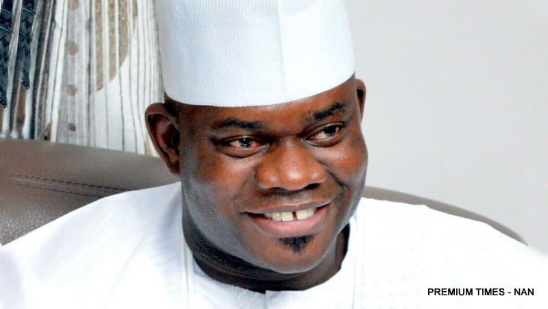 Photo of Governor Yahaya Bello thanks people of Kogi for voting for him